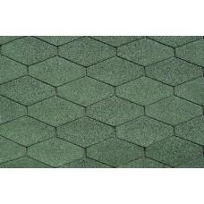 Битумная Черепица | IKO Diamant PLUS |№ 03 Amazon Green |
