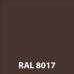 """Металлосайдинг Сталекс """"Стальбрус"""" 0,45 мм (RAL 8017 MAT - Китай)"""