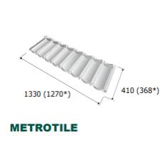 "Композитная черепица ☰ ""Metrotile - Mertobond"""