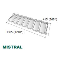 "Композитная черепица ☰ ""Metrotile Mistral"""