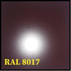 "Гладкий Лист ""Arcelor Mittal"" Германия  0,45 мм RAL 8017 (Коричневый) Zn 225 (10 м /1,25 м)"