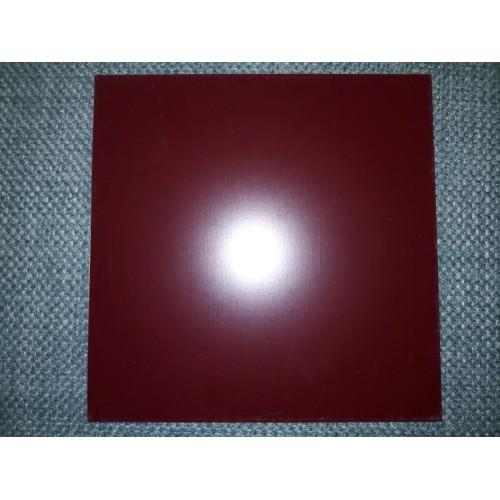 Гладкий лист 0,35 мм*1250 мм PE (в пленке) RAL 3005 Китай (Эконом)