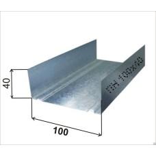 Направляющий профиль UW 100 0,4 мм 4 м