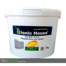 Воск для дерева универсальный Bionic-House 3л Бесцветный