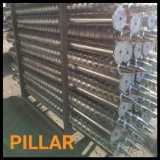 Геошуруп Pillar FH 76x3.0 x 2500 мм t1050 мм горячеоцинкованный