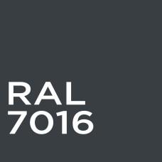 Гладкий лист RAL 7016 0,5 мм ArcelorMittal (в защитной пленке 50 м*1,25 м)