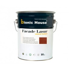Facade Lasur | Марсала | 10 л  |  (лессирующий антисептик) Bionic-House