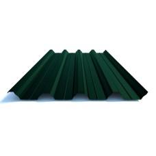 Профнастил Н 57 Термастил 0,8 мм, PE RAL 9006 серебристый металлик , Италия. 6005-Зеленый, 0.45 мм