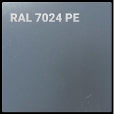 Гладкий лист PE | 0,7 мм | RAL 7024 | EcoSteel |