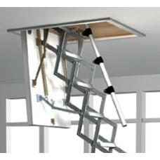 Roto Exclusiv (Рото Ексклюзив) Чердачная лестница ножничная – (70 х 140 х 279) см