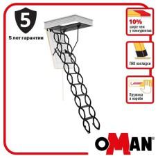 Сходи на горище Oman Flex Termo Metal Box (120x70) H290