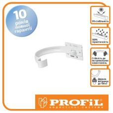 Держак ринви Profil метал. малий 90 білий
