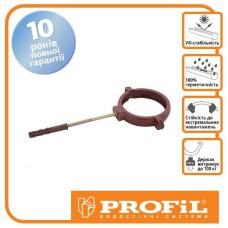 Держак труби Profil пласт. L220 130 коричневий