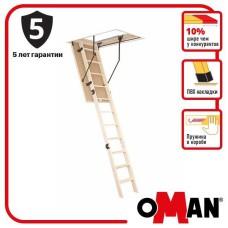 Сходи на горище Oman Prima (110x70) H280