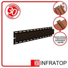 H-планка Софіт VOX Infratop Коричнева 3,05м