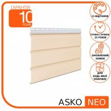 Панель ASKO NEO бежева без перфорації 3.5 м, 1.07 м2
