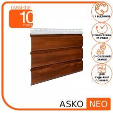 Панель ASKO NEO горіх без перфорації 3.5 м, 1.07 м2