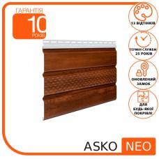 Панель ASKO NEO горіх перфорована 3.5 м, 1.07 м2