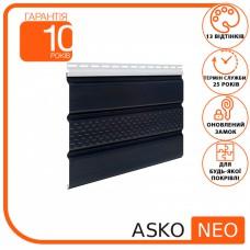 Панель ASKO NEO графіт перфорована 3.5 м, 1.07 м2