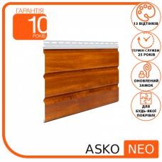 Панель ASKO NEO дуб золотий без перфорації 3.5 м, 1.07 м2