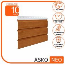 Панель ASKO NEO світла сосна без перфорації 3.5 м, 1.07 м2