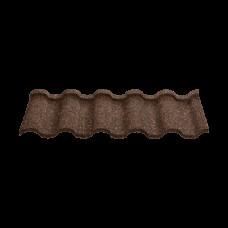 Композитная черепицаNovatik NATURA ROMAN brown earth (коричневый)