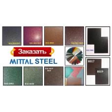 Сталь 0,5 мм листовая PEMA   MittalSteel (Польша) RAL