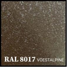 Гладкий лист 0,5 мм VOESTALPINE Mat RAL 8017