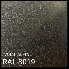 Гладкий лист 0,5 мм VOESTALPINE Mat RAL 8019