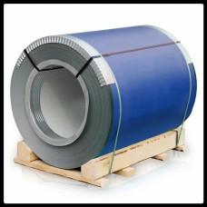 Рулонная сталь – гладкий лист с полимерным покрытием 0,5 мм 5005