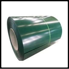 Рулонная сталь – гладкий лист с полимерным покрытием 0,5 мм 6005