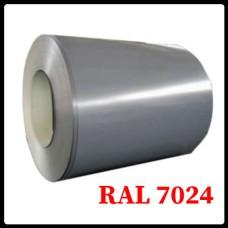 Рулонная сталь – гладкий лист с полимерным покрытием 0,5 мм 7024