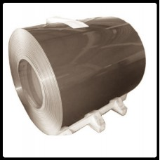 Рулонная сталь – гладкий лист с полимерным покрытием 0,5 мм 8019