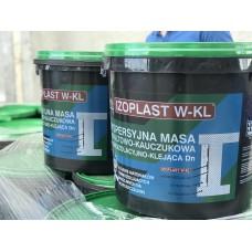 Битумно-каучуковая мастика для приклейки пенопласта на водной основе Izoplast W-KL 20 кг.