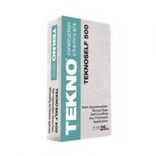 Teknoself 500 — усиленный самовыравнивающийся раствор для наливных полов с полимерными волокнами