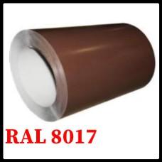 Гладкий лист стальной  оцинкованный - 0,4 мм Китай RAL 8017