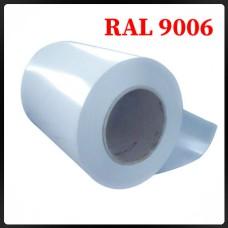 Гладкий лист стальной  оцинкованный - 0,4 мм Китай RAL 9006