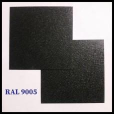 Стальной лист Marcegaglia • оцинкованный 0.5 мм с полимерным покрытием •  МАТ •  RAL 9005