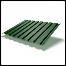 Профнастил для стен — ПС 20 - матовый 0,45 мм RAL 6005