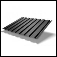 Профнастил для стен — ПС 20 - матовый 0,45 мм RAL 9005