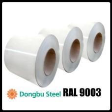 RAL 9003 — 0,7 мм  Гладкий Лист