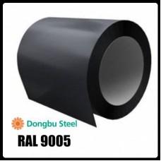 RAL 9005 — 0,7 мм | Гладкий Лист |