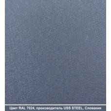 RAL 7024 | Гладкий лист — 0,45 мм с полимерным покрытием TM