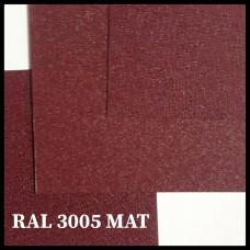 RAL 3005 | Гладкий лист — 0,45 мм с полимерным покрытием TM