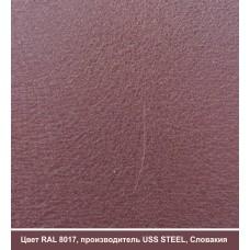 RAL 8017 | Гладкий лист — 0,45 мм с полимерным покрытием TM