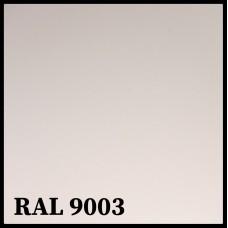 Листовая сталь 0,45 мм с полимерным покрытием - TEZCAN ( Турция ) RAL 9003