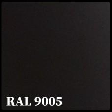 Листовая сталь 0,45 мм с полимерным покрытием - TEZCAN ( Турция ) RAL 9005