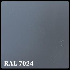 Листовая сталь 0,45 мм с полимерным покрытием - TEZCAN ( Турция ) RAL 7024