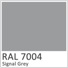 Листовая сталь 0,45 мм с полимерным покрытием - TEZCAN ( Турция ) RAL 7004