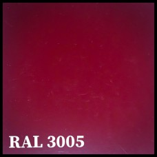 Листовая сталь 0,45 мм с полимерным покрытием - TEZCAN ( Турция ) RAL 3005
